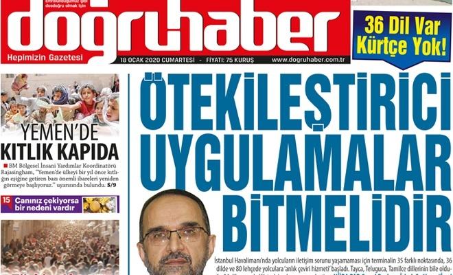 """36 Dil Var Kürdçe Yok! """"Ötekileştirici Uygulamalar Bitmelidir"""""""