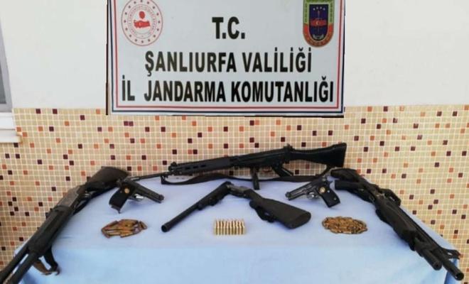 Şanlıurfa'da silah kaçakçılarına yönelik operasyonda 3 kişi gözaltına alındı
