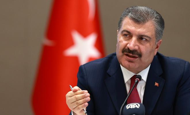 Sağlık Bakanı son koronavirüs rakamlarını açıkladı