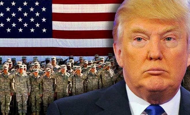 Trump Amerikan askerlerine çekilme emri verdi