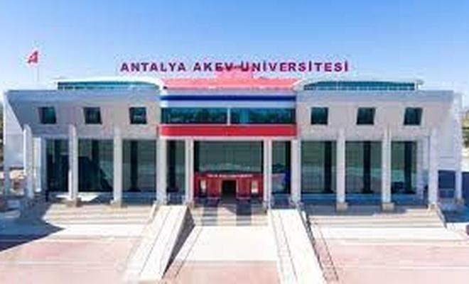 Antalya AKEV Üniversitesi'nden Personel duyurusu
