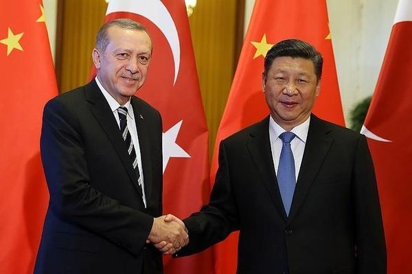 Cumhurbaşkanı Erdoğan, , Çin Devlet Başkanı ile görüştü! Görüşmede Uygur detayı!