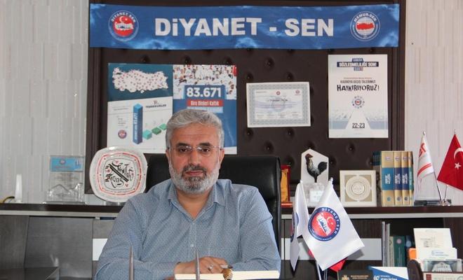"""Diyanet-Sen Van Şube Başkanı Arvas: """"Ayasofya açılsın, hasret sona ersin"""""""