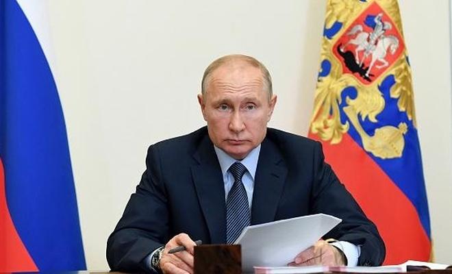 Putin, Güvenlik Konseyi'ylegörüştü:
