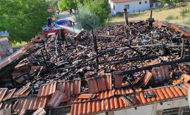 Malatya'da ev ve orman yangınları