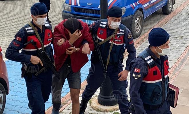 Antalya'da hırsızlık için girdiği evin sahibini silahla yaralayan şüpheli tutuklandı