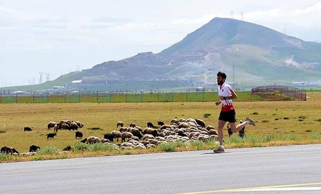 Bitlisli milli atlet, altın madalya için yaylalarda çalışıyor
