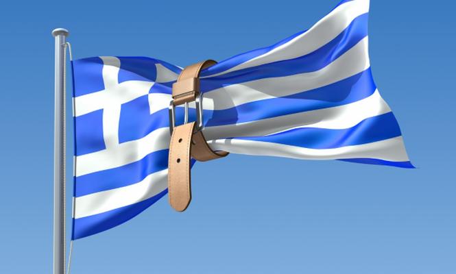 Yunan ekonomisi daraldı