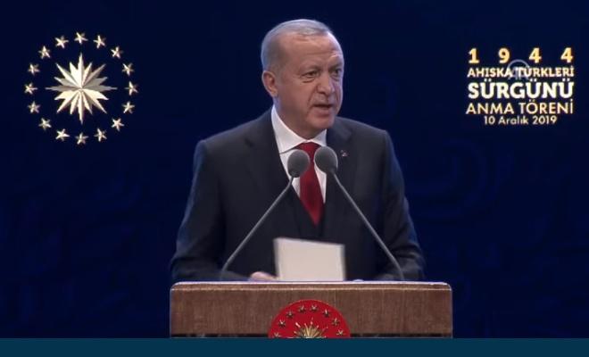 Erdoğan: Herkesi, bu skandala tepki göstermeye çağırıyoruz
