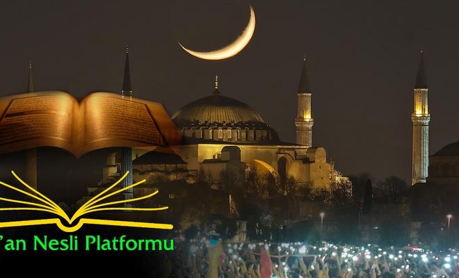 Kur'an Nesli Platformu'ndan Kadir Gecesi mesajı