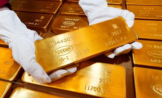 Rusya'da altın üretimi arttı