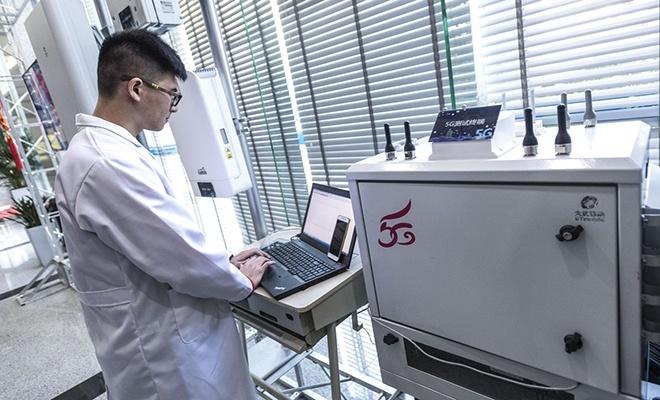 Çin, 50 bini aşkın 5G baz istasyonu kuracak