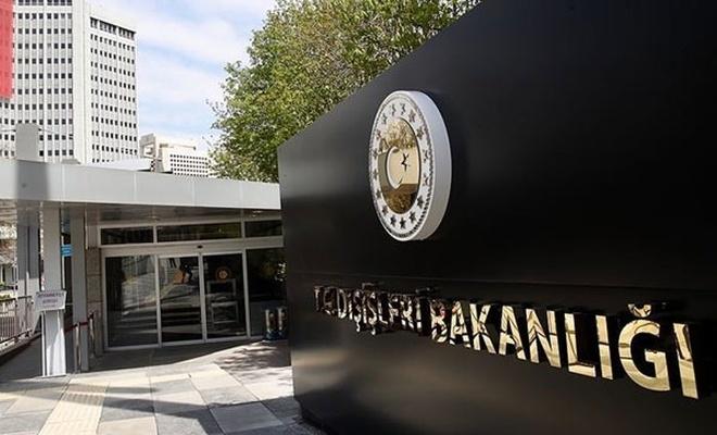 Fransa'nın Ankara Büyükelçiliği Maslahatgüzarı Dışişleri'ne çağrıldı