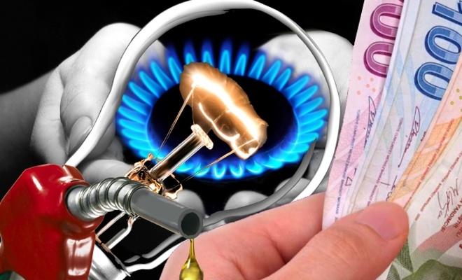 Elektrik, doğalgaz ve akaryakıtta da indirim yapılmalı!
