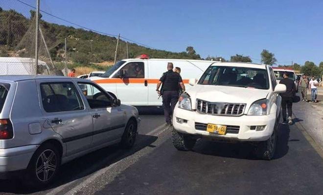 Siyonist işgalcilerin araçlı saldırısına uğrayan Filistinli işçi yaralandı