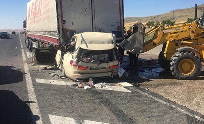 Ankara-Konya karayolunda feci kaza:  Çok sayıda ölü