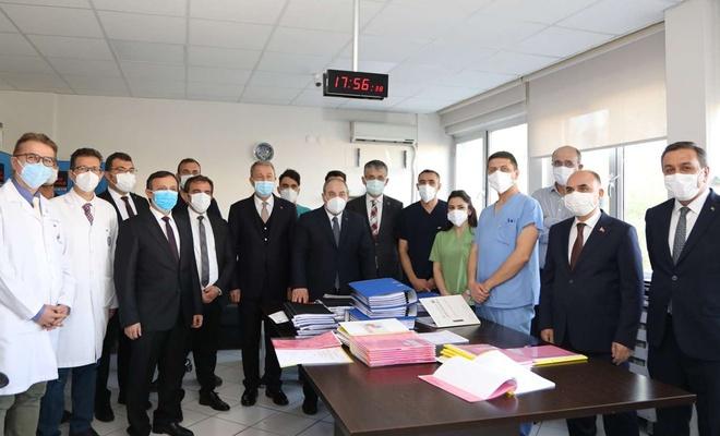 Bakan Akar ve Bakan Varank Kayseri'de ziyaretlerde bulundu