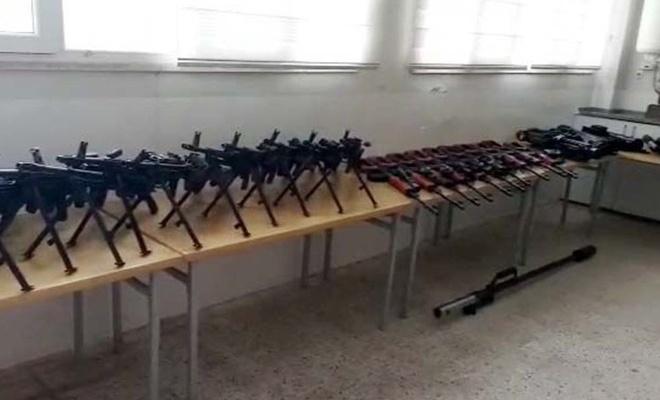 PKK/PYD'nin cephaneliği ele geçirildi