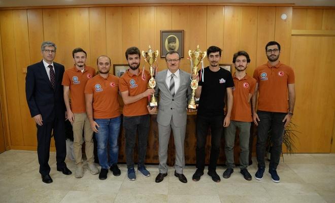 BUÜ'den Avrupa şampiyonluğu