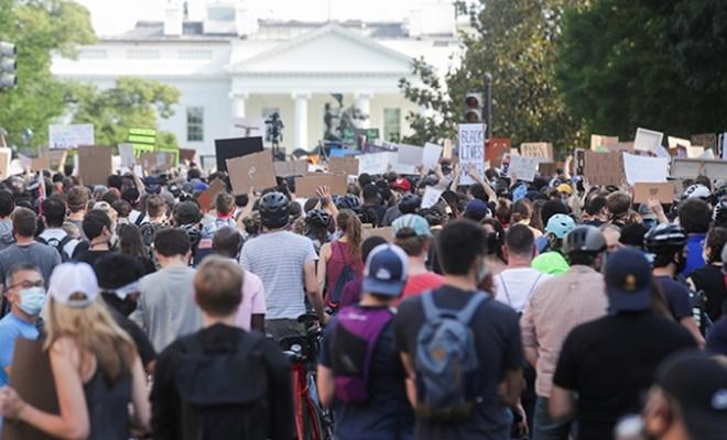 ABD'de ırkçılığa karşı öfkenin 8. günü