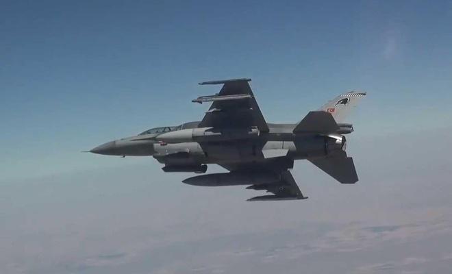Irak'ın kuzeyinde Zap bölgesine hava harekâtı düzenlendi
