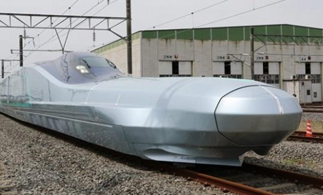Japonya yeni hızlı trenini test etti