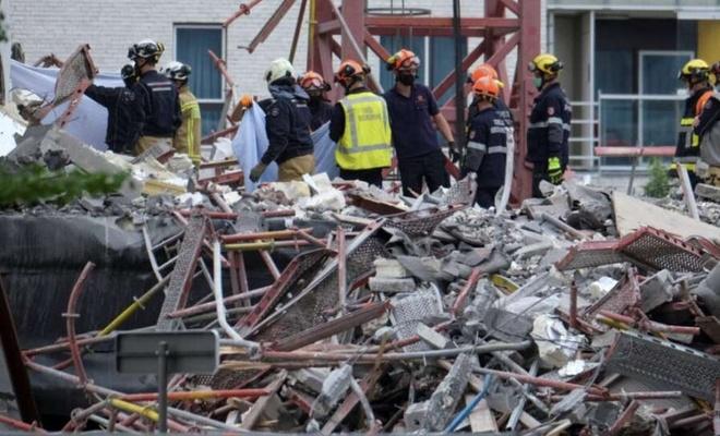 Belçika'nın Antwerp kentinde okul şantiyesinde kaza: 5 ölü