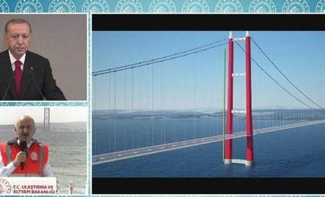 1915 Çanakkale Köprüsü'nde sona doğru (VİDEO)