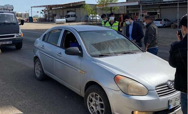 Şanlıurfa'da sokağa çıkma kısıtlamasını ihlal edenlere cezai işlem uygulandı
