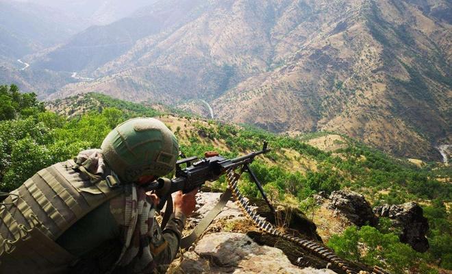 Barış Pınarı bölgesinde 4 PKK/YPG'li öldürüldü