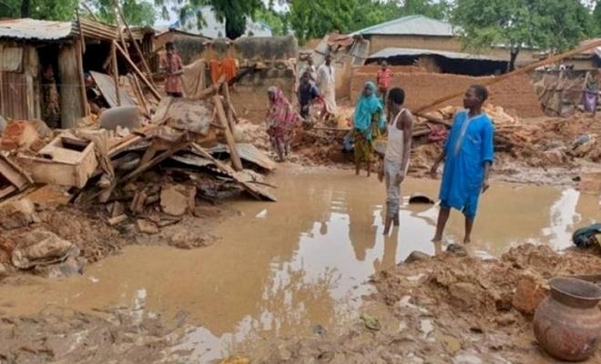 Nijerya'daki sellerden 158 bin kişi etkilendi
