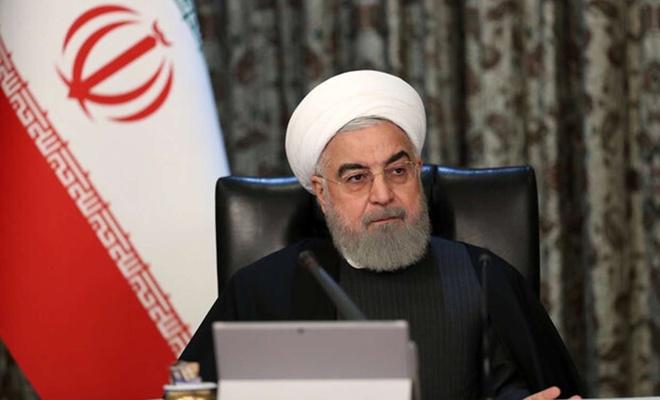 """Ruhani'den """"ABD yaptırımları"""" değerlendirmesi"""