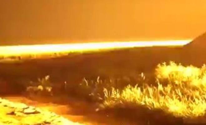 Terörist çetelerden Gazze'ye saldırı