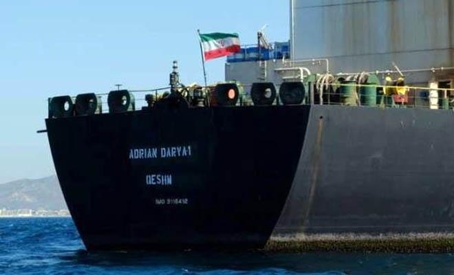 Cebelitarık'tan ayrılan İran tankeri Türkiye'ye geliyor