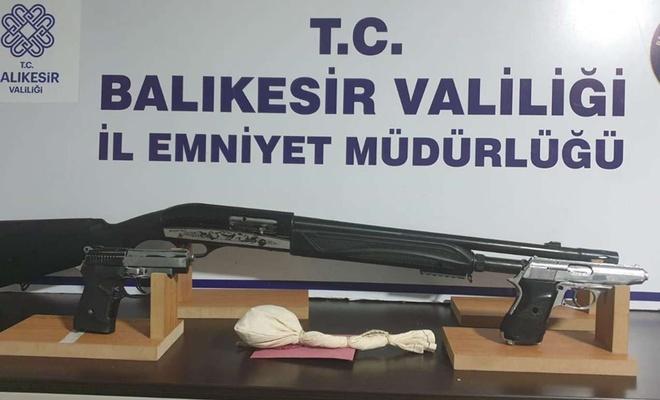 Balıkesir'de araması bulunan 16 şahıs yakalandı