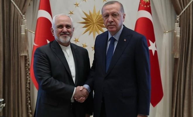 Zarif, Esad Raporunu Erdoğan'a sundu