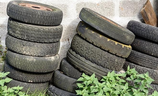 Atık araba lastikleriyle asfalt üretimi