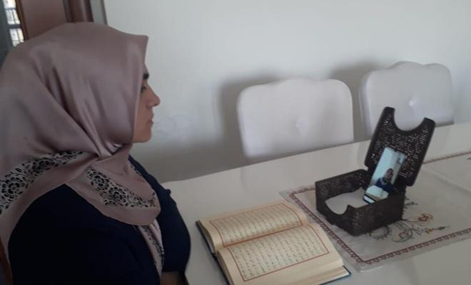 Malatya'da öğrenciler uzaktan eğitimle hafızlığa başladı