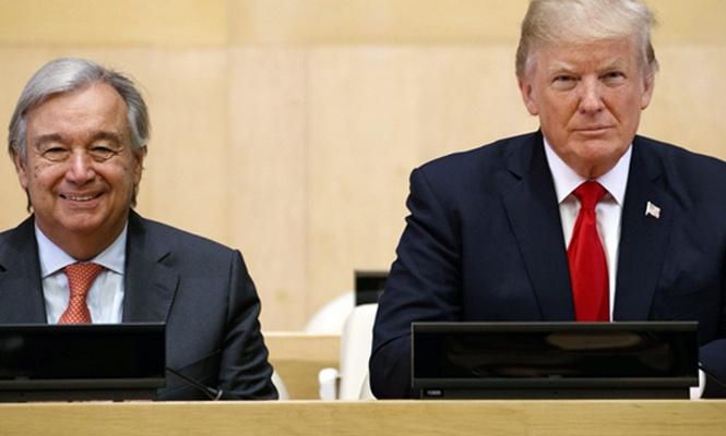 Trump ile Guterres BM yapısındaki reformları görüşecek