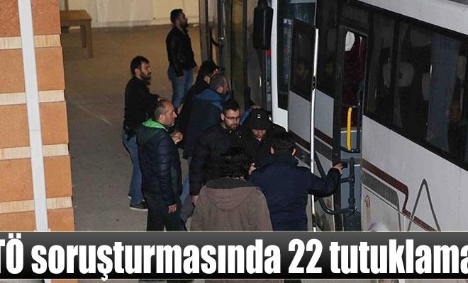 Çankırı merkezli FETÖ soruşturmasında 22 tutuklama