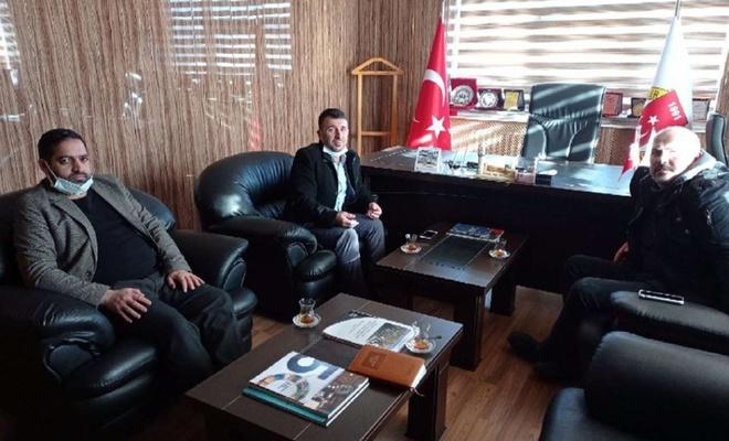 HÜDA PAR Bayburt Başkanı kentte çeşitli ziyaretlerde bulundu