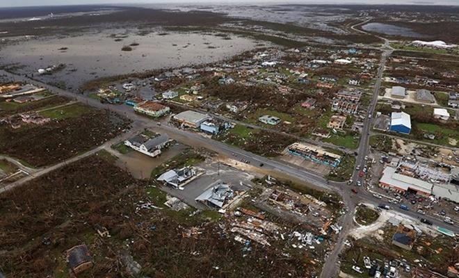 Dorian Kasırgası'nda ölenlerin sayısı yükseliyor