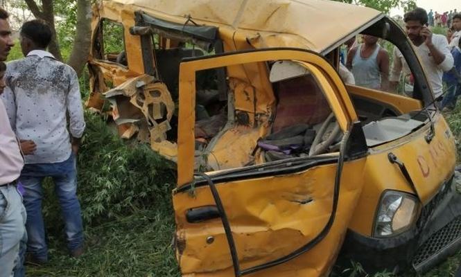 Meydana kelen kazada, 13 öğrenci öldü