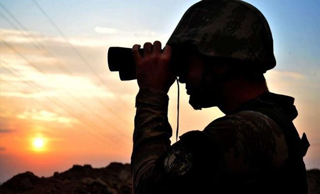 Sınır hattında 2'si PKK mensubu 9 kişi yakalandı