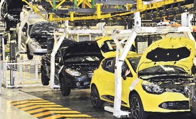 Renault'ta üretim durdu