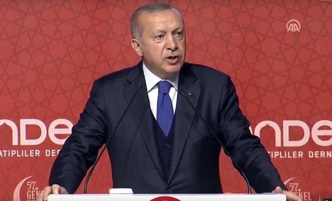 Erdoğan'dan Karamollaoğlu'na Cami cevabı