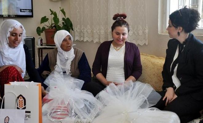 """Kızıltepe Belediyesinden """"çeyiz"""" projesi"""