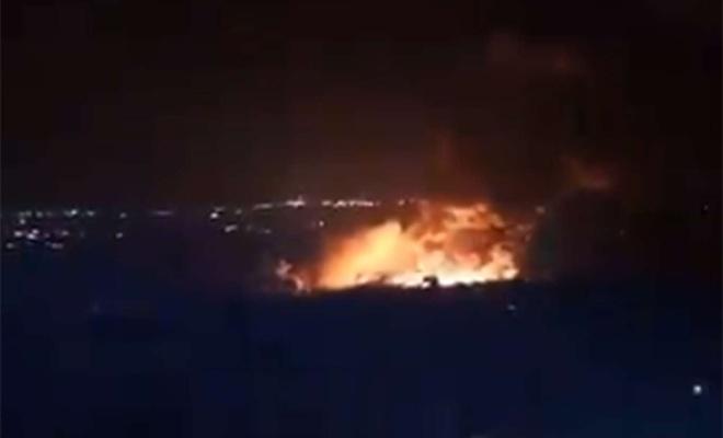 Terör rejimi Suriye'ye saldırdı