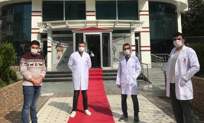 Mardin'de Covid-19 tedavisi gören 4 hasta taburcu edildi