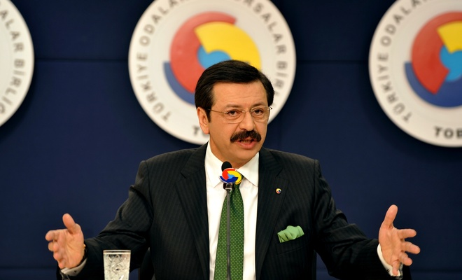 """TOBB Başkanı Hisarcıklıoğlu: """"2020'de inşaallah umut hakim olacak """""""